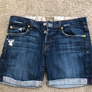 Rich & Skinny denim shorts